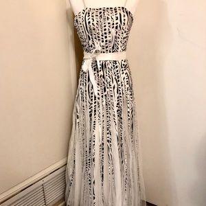 ASPEED gorgeous flowy gown XS